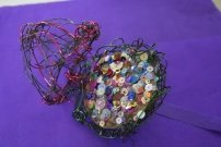 Wire Eggs and Birds