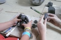 Clay Animal Faces