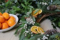 Traditional Christmas Wreath Making