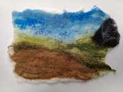 Landscapes and Seascapes Felt Workshop with Karen Teal